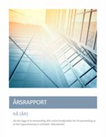 Årsrapport (med omslagsbilde)