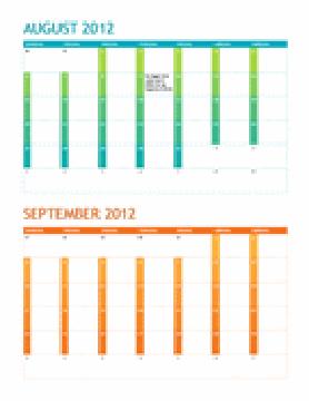 Akademisk kalender (mandag–søndag)