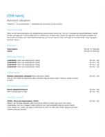 CV for sykepleier