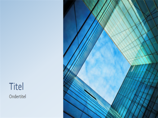 Présentation marketing professionnelle cube en verre (grand écran)