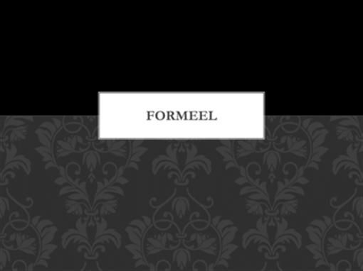 Formeel