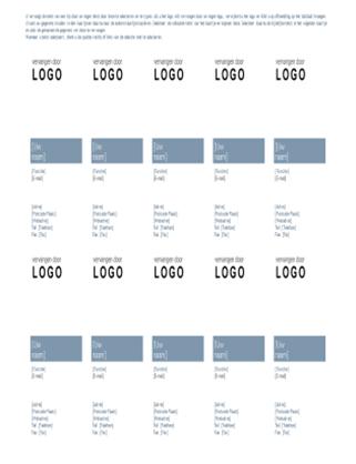 Visitekaartjes (tijdloos ontwerp)