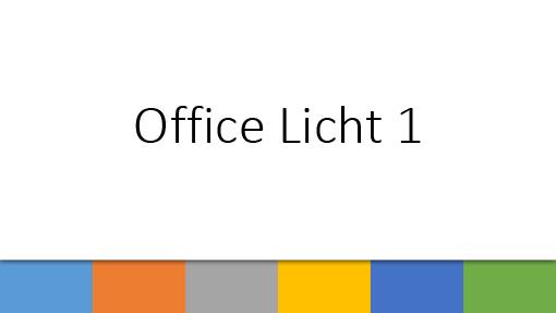 Office Licht 1
