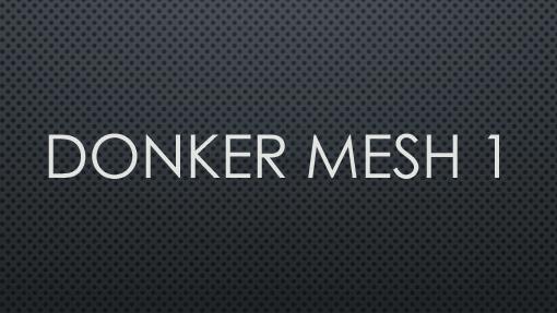 Donker net 1