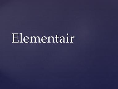 Elementair