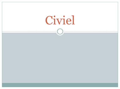 Civiel