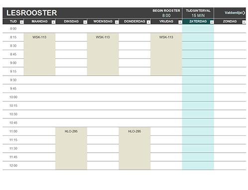 Studentenplanning