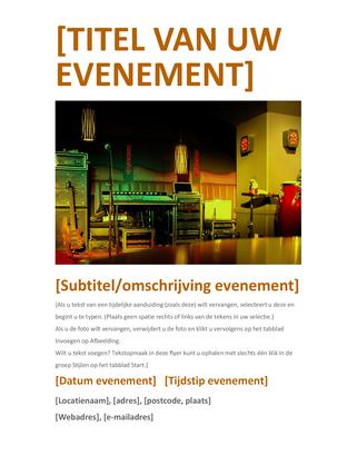 Folder voor evenementen