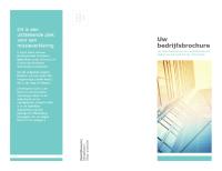 Brochure (zakelijk)