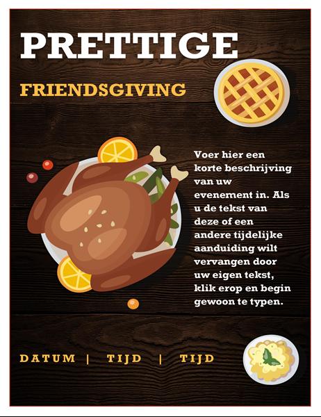 Folder voor Friendsgiving