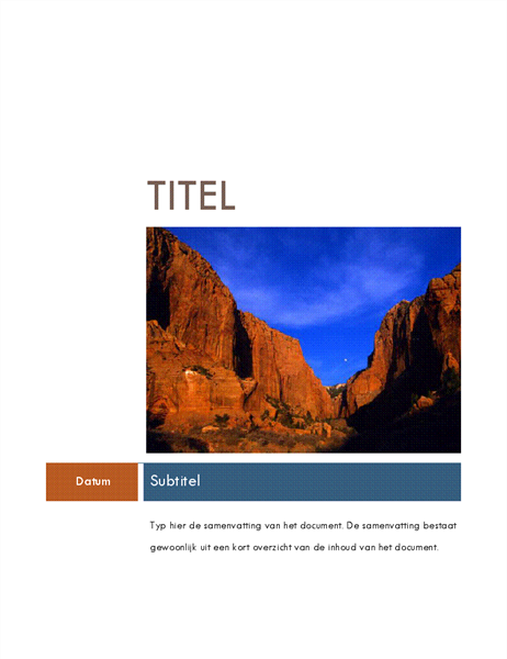 Rapport (thema Mediaan)