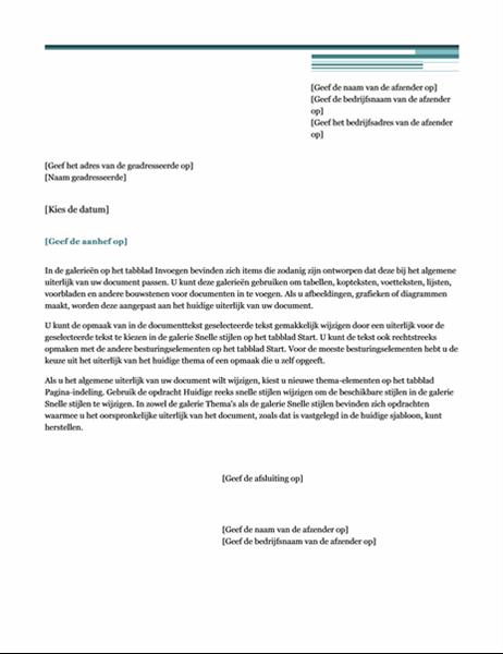 Brief (thema Urban)