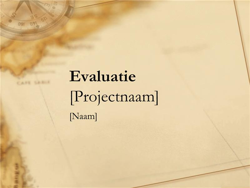 Projectevaluatie