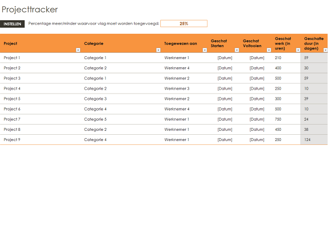 Projecttracker