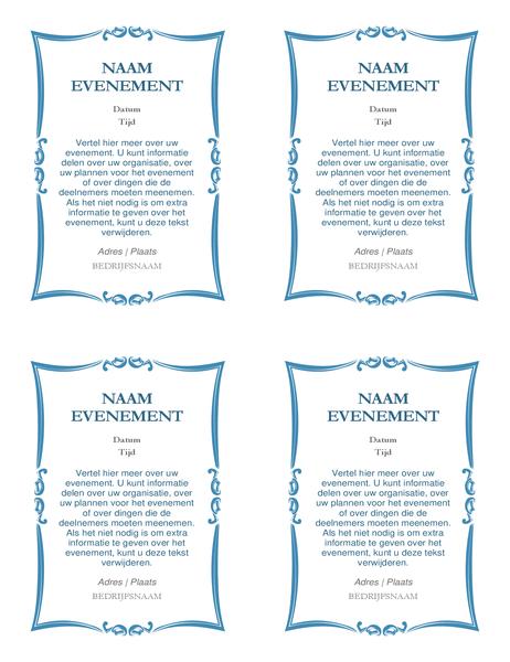Uitnodigingen voor evenement (4 per pagina)