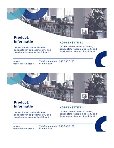 Briefkaarten (Boog-ontwerp, 2 per pagina)