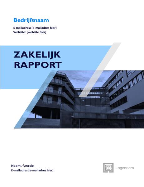 Zakelijk rapport (grafisch ontwerp)