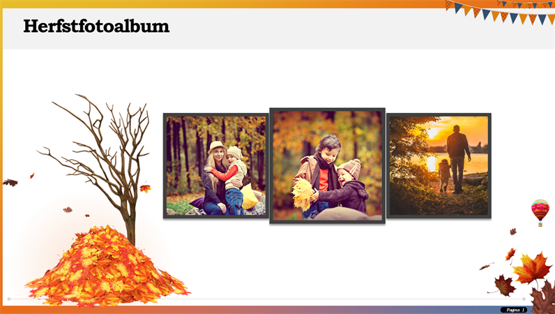 Album photo Automne
