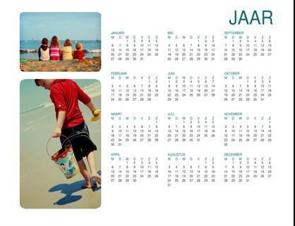 Fotokalender voor familie