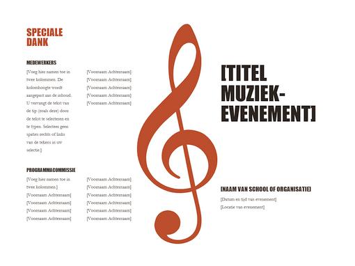 Muziekprogramma