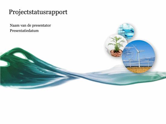 Presentatie Projectstatusrapport