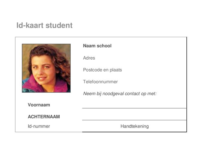 Id-kaart student