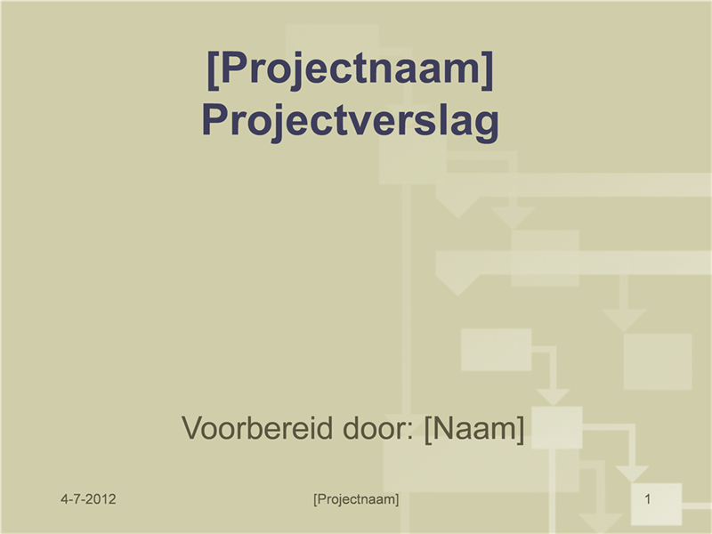 Projectrapport