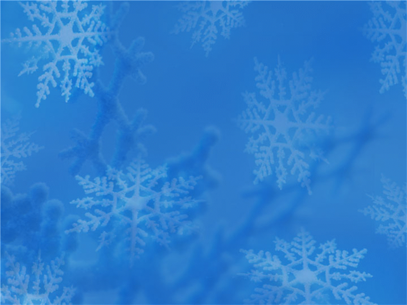 Ontwerpsjabloon Sneeuwvlokken