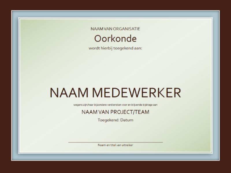 certificaat maken online gratis – betonfundering maken