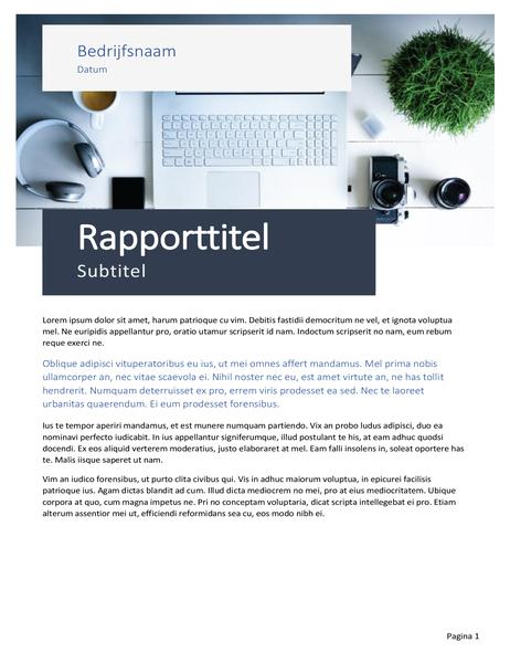 Rapport (ontwerp Origin)