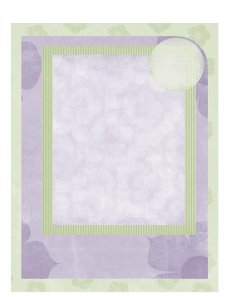 Babyfotoalbum (ontwerp met bloemen)
