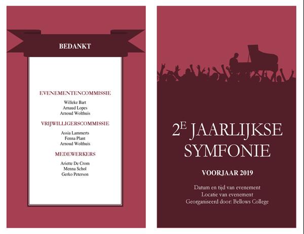 Concertprogramma