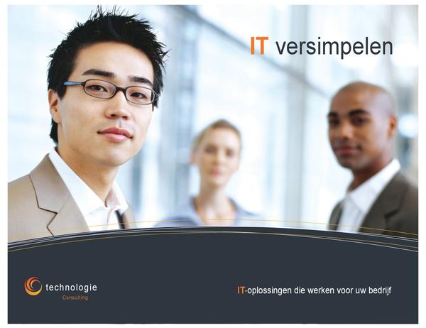 Poster Technologiebedrijf (horizontaal)
