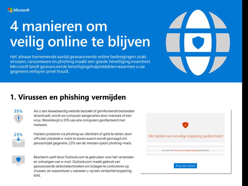 4 manieren om online veilig te blijven