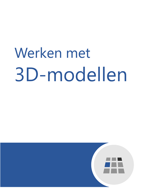 Werken met 3D-modellen in Word