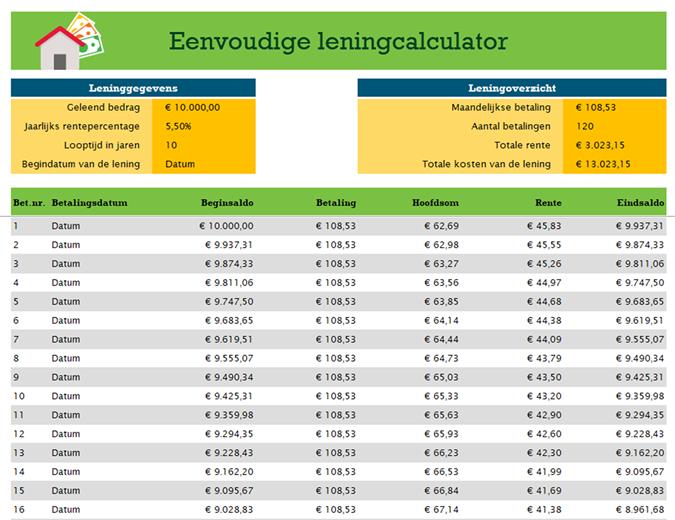 Leningcalculator