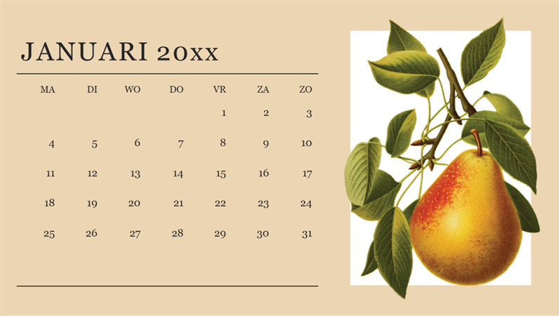 Botanische maankalender