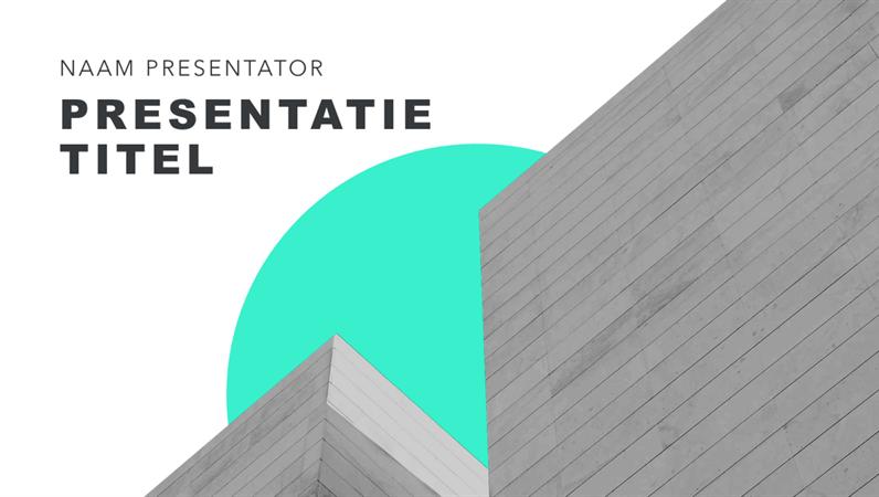 Light modernist presentation