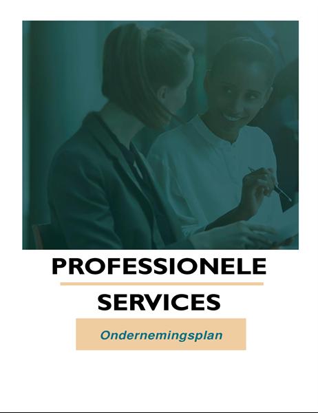 Ondernemingsplan voor zakelijke dienstverlening