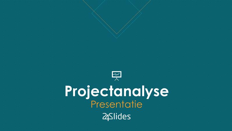Projectanalyse uit 24Slides
