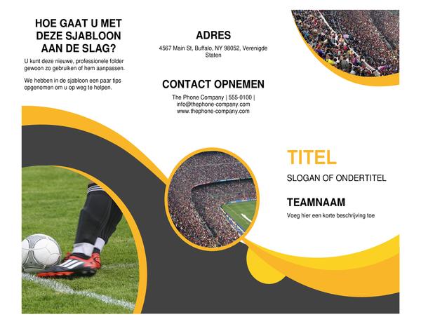 Sportbrochure