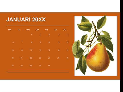 Botanische maandkalender