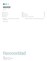 Faxvoorblad (thema met stippen)