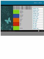Academische kalender voor 2011-2012 (ma-zo)