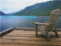 Ontspannen bij het meer (met video)