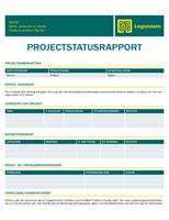 Projectstatusrapport