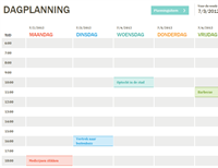 Dagplanning