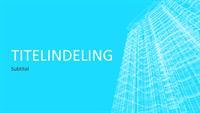 Draadmodelgebouw-presentatie (breedbeeld)