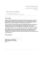 Brief (ontwerp Origin)