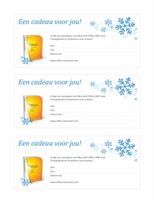 Cadeaubon voor Microsoft Office 2007 voor Thuisgebruik en Studenten